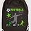 Thumbnail: GRAND SAC A DOS football Existe bleu/vert/rouge réf SC22