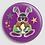 Thumbnail: Badge rond à épingle Existe en rouge/jaune/bleu - Ø 38,45 Réf BE26