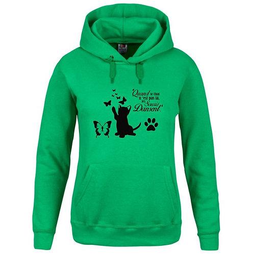 Sweat-shirt Capuche avec poche kangourou Réf SW6
