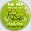Thumbnail: Badge rond à épingle la vie - Ø 56 Existe en rose, vert