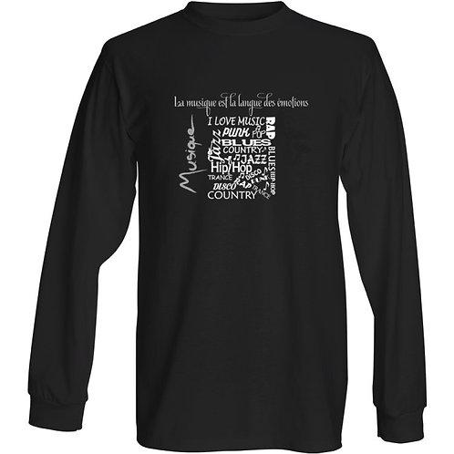 T-shirt coton épais RéfML11