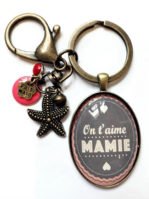 Porte clé MAMIE REF EN124