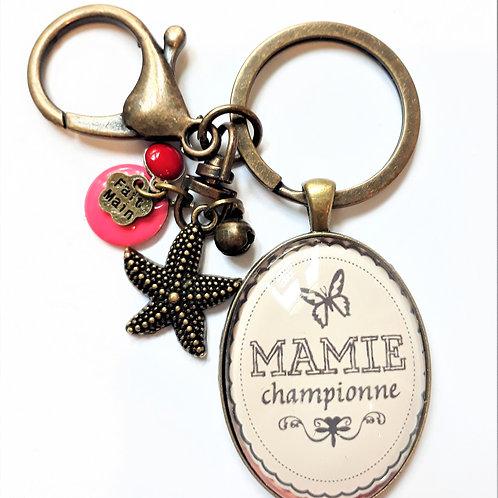 Porte clé MAMIE REF EN126