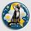 Thumbnail: Grand Badge rond à épingle Ø 76mm ENDOMETRIOSE Ref ba18