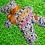 Thumbnail: Bouillotte sèche BULBILLE LA PLUME bobby's garnie de noyaux de cerises