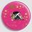 Thumbnail: Badge rond à épingle Ø 76mm  Ref B40