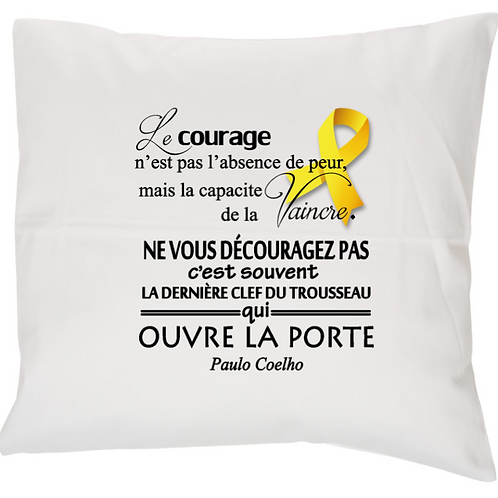 HOUSSE COUSSIN ENDOMETRIOSE COURAGE