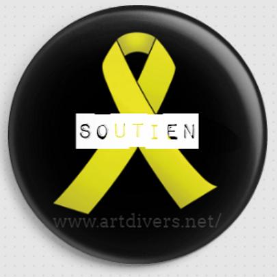 Badge rond à épingle - Ø 38,45,56,76 REF BD 10