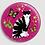 Thumbnail: Badge rond à épingle Ø 76mm  Ref Bd22