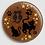 Thumbnail: Badge rond à épingle Ø 76mm  Ref Bd29