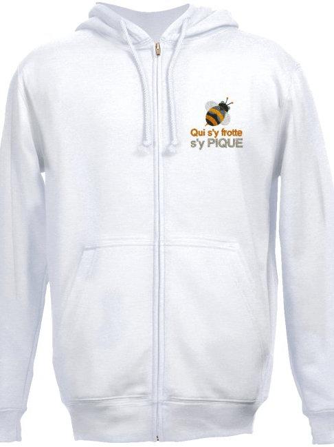 GILET Sweat-shirt à capuche brodé Réf SSG02