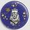 Thumbnail: Badge rond à épingle Ø 76mm  Ref Bd18