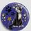 Thumbnail: Badge rond à épingle Ø 76mm  Ref Bd26