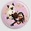 Thumbnail: Badge rond à épingle Ø 76mm  Ref B57