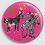 Thumbnail: Badge rond à épingle Ø 76mm  Ref Bd8