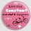 Thumbnail: Badge rond à épingle rien n'est.. - 56mm Existe en jaune, noir, rose
