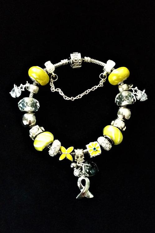 Réf BE6 Bracelet Européen type Pandora