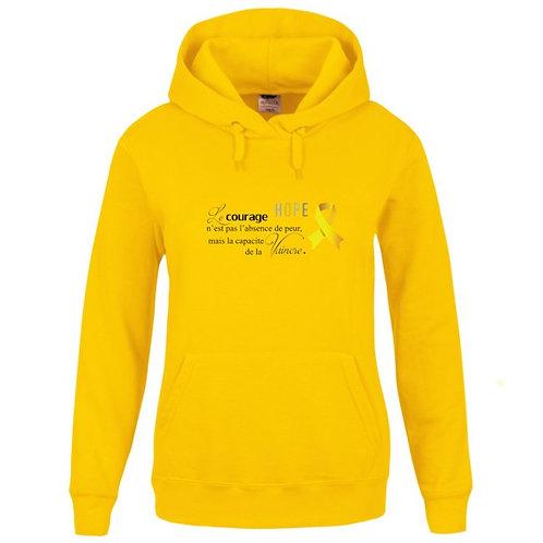 Sweat-shirt Capuche avec poche kangourou Réf SEN3