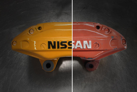 Restore brake callipers