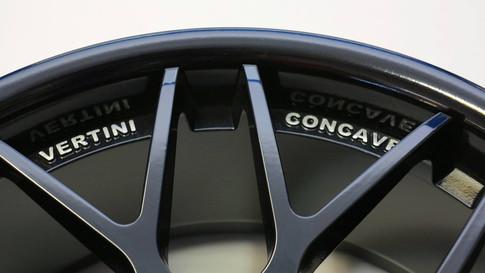 Powder coated Vertini Concave rims