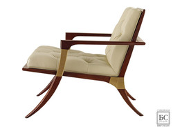 Athens Lounge Chair - Tufted
