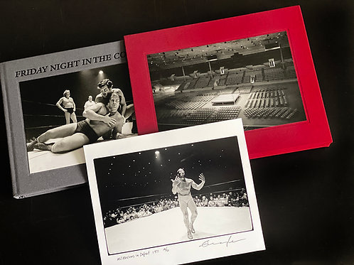 Friday Night in the Coliseum 2020 Casebound Numbered Edition with Gelatin Print