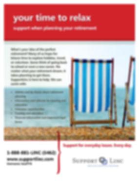SupportLinc Life Event Flyer - Retiremen