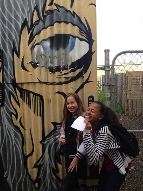 Street art spotting