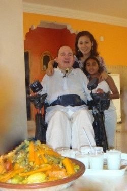 Mr. Philippe Pozzo di Borgo The inspiration for ''The Intouchables'' movie