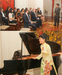 Reception with U.S. Diplomats for Successful Vietnamese Presidential Visit Embassy of Vietnam in the