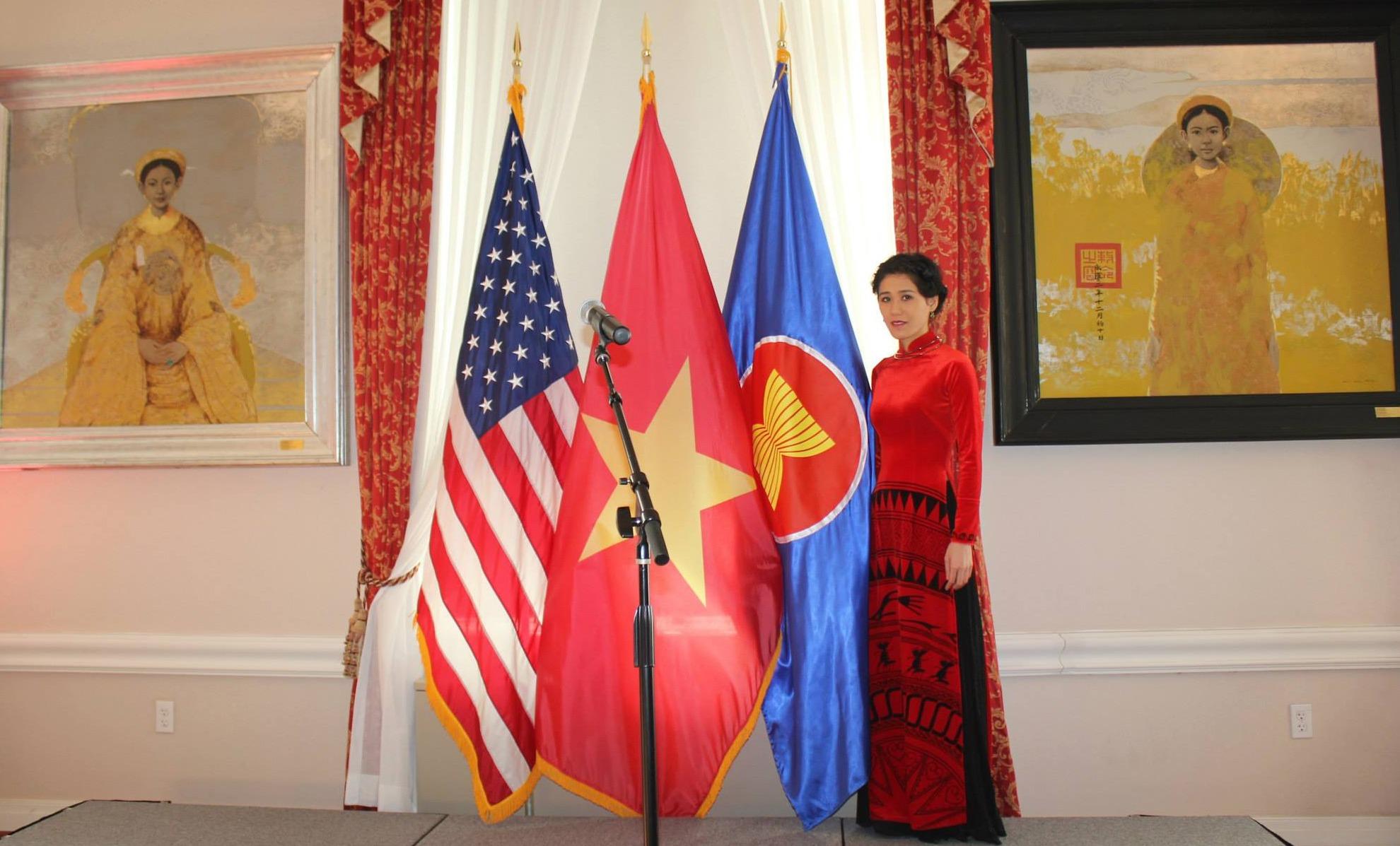 At Embassy of Vietnam in the U.S.