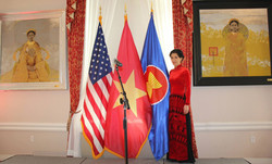 At Embassy of Vietnam in the U.S.