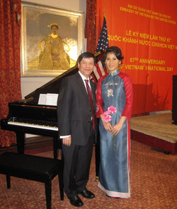 67th Anniversary of Vietnam's National Day H.E. Ambassador: Nguyen Quoc Cuong of Vietnam to the U.S.