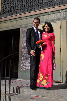 Civil ceremony at NYC  City Clerk