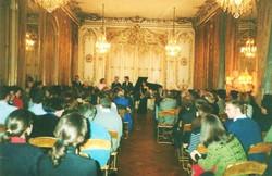 Fundraising Concert for ABCDE in Paris Pozzo di Borgo Mansion