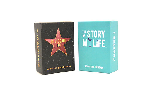 CELEBSAID + Story Of My Life - Combo Pack