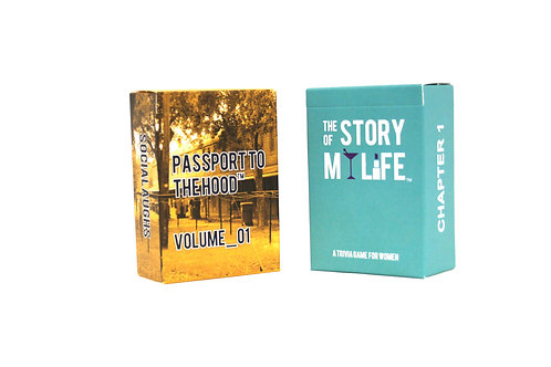 Passport To The Hood Vol 1 + The Story of My Life Combo Pack