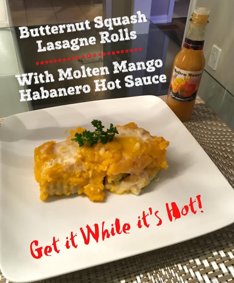 lasagne with mango