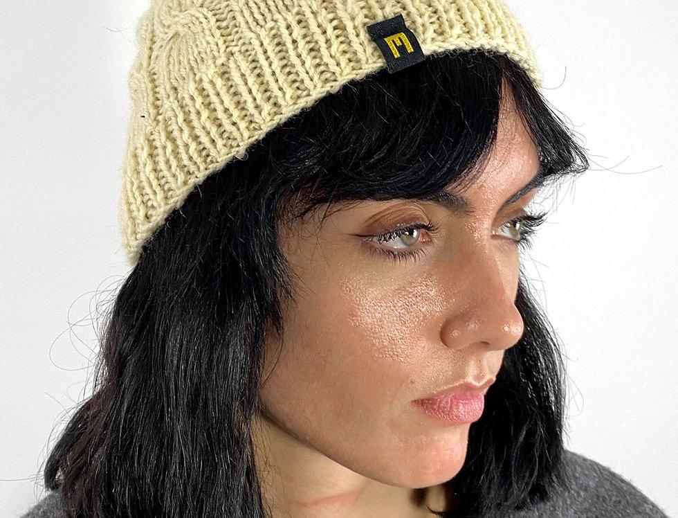 Wool Hat White