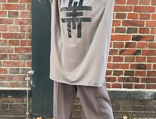 Dress oversize sleeves G