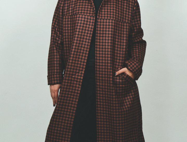 Coat wool B/B