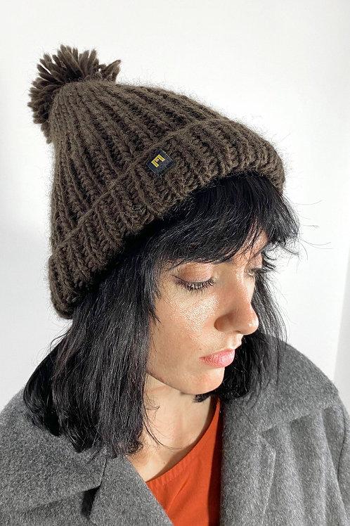 Wool Hat brown 2 EME Clothing in Berlin