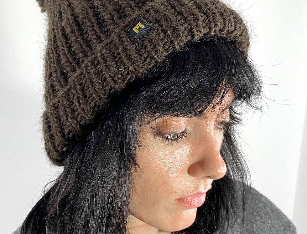 Wool Hat brown 2