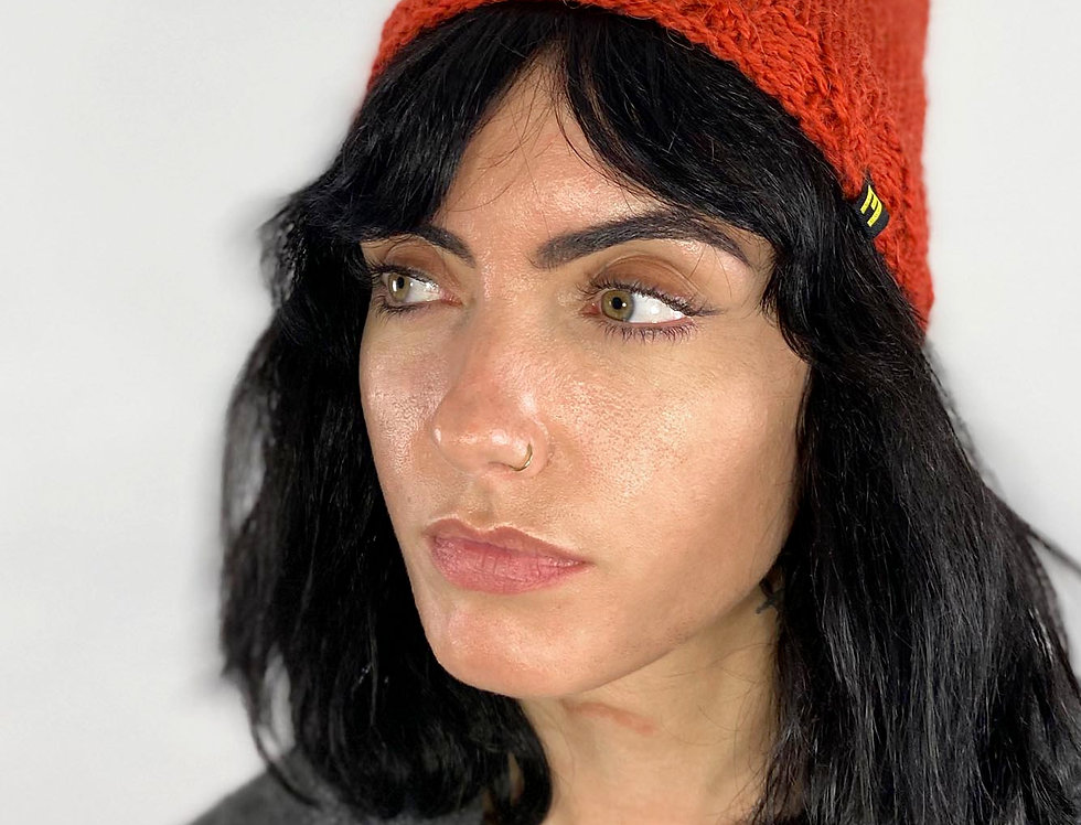 Wool Hat Orange