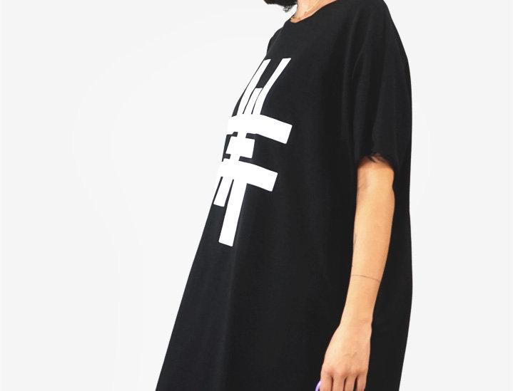 Dress oversize H