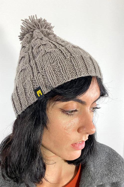 Wool Hat Grey