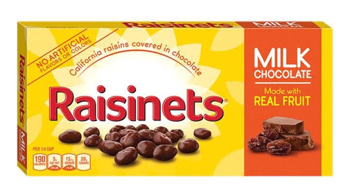 Nestle Chocolate Covered Raisinets, 3.5-oz. Box
