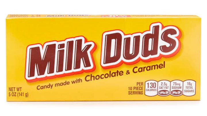 Milk Duds Chocolate-Coated Caramels, 5-oz. Box