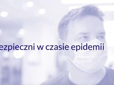 Bezpieczni w czasie epidemii - cykl filmów.