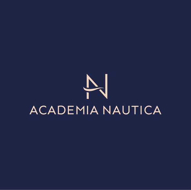 Academia Nautica logo wykonane przez Rek House
